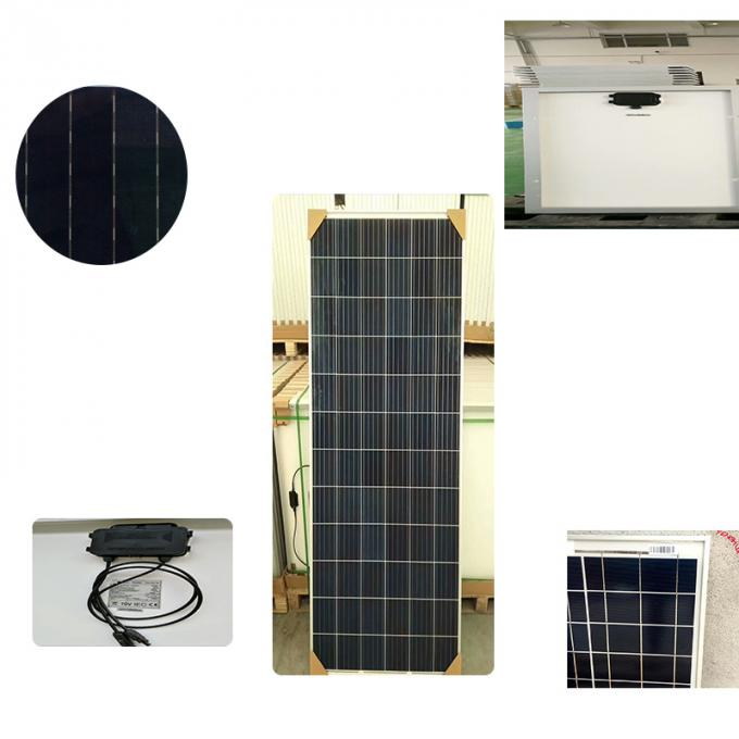 Black Poly Transparent Solar Power Cells for Solar Power system