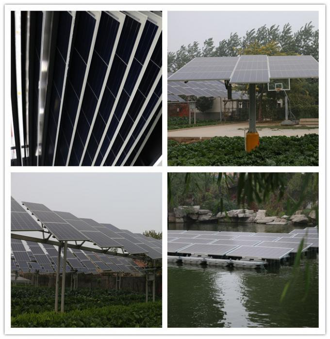 P96-270W Single Crystal Silicon Solar Photovoltaic Panel Mono-Crystalline Solar Panel