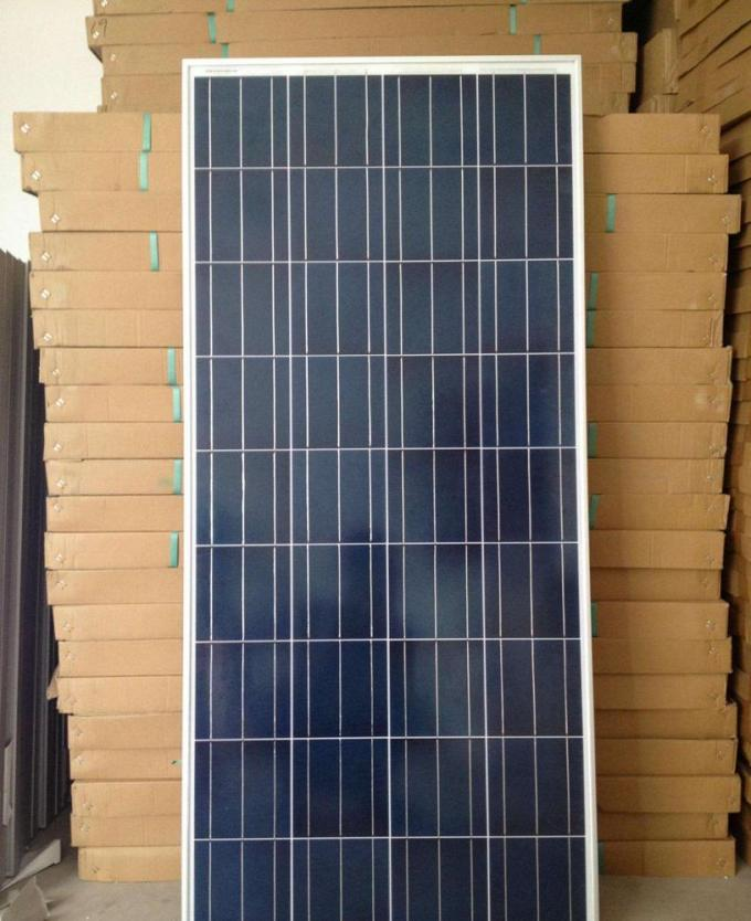 Household Eco Mono Solar Panel Anodized Aluminium Frame IEC61730 Approved